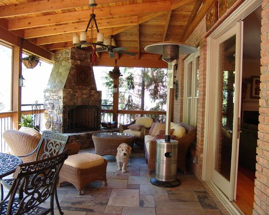 This Is What I Had In Mind For An Outdoor Fireplace--back