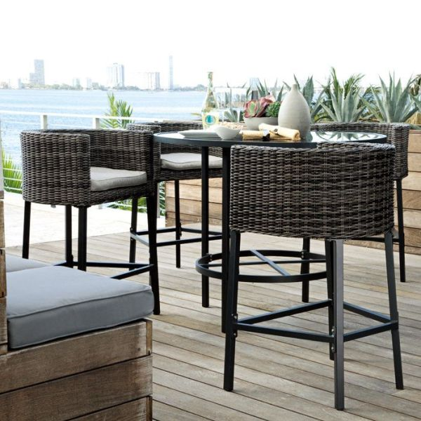 bar height patio table set 17 Best images about Bar Height Patio Chairs on Pinterest