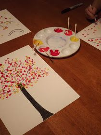 LESSON PLANNED!! Magistra Mommy: Easy OILS Art Project…. Use this for a high s