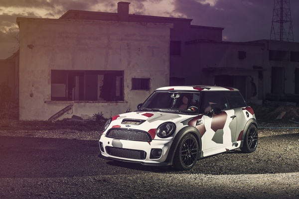 Mini Cooper S Works Camouflage By Giannis King Kokkas
