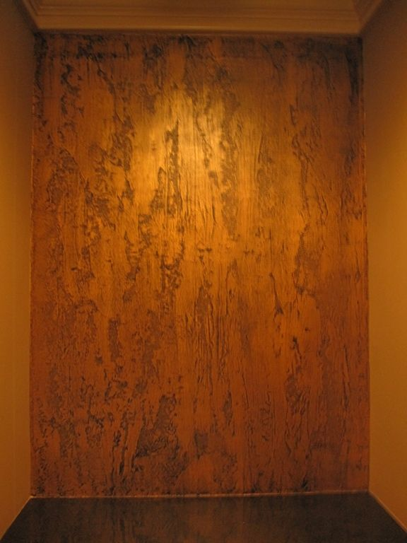 Pictures Of Textured Painted Walls With Copper Glaze