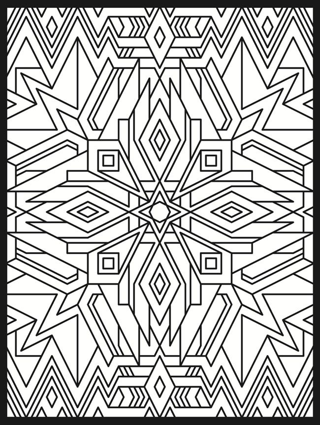 Stained Glass Design 2 From Dover Publications Httpwww