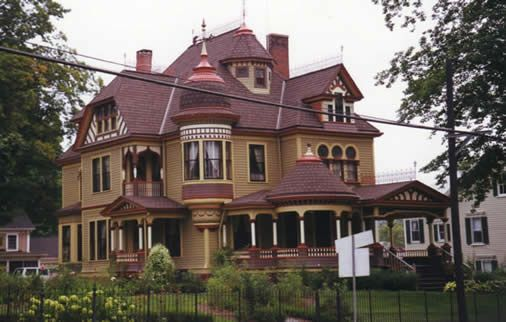 1000+ Ideas About Queen Anne Houses On Pinterest