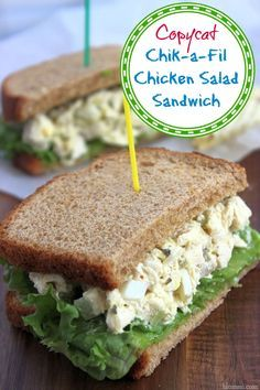 Copycat Chik-a-Fil Chicken Salad Recipe: Make Your Own Sandwiches – Mom Foodie…