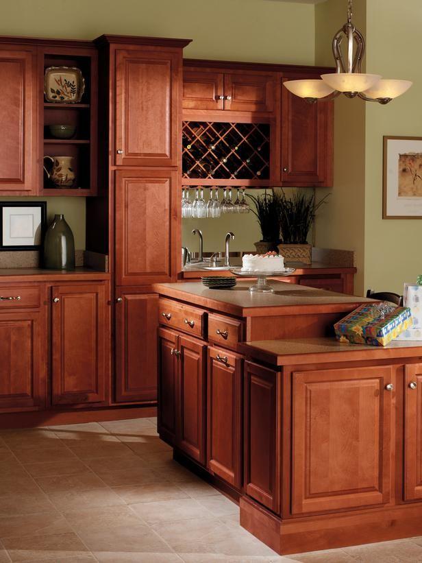 Quality Cabinets Harborview Birch Cinnamon Kitchens