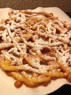 Family Recipes: Funnel Cake Goodness! I knew I saved that ketchup bottle for a r