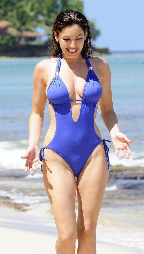 sexy-one-piece-swimsuits-8 | Blue | Pinterest | Models ...