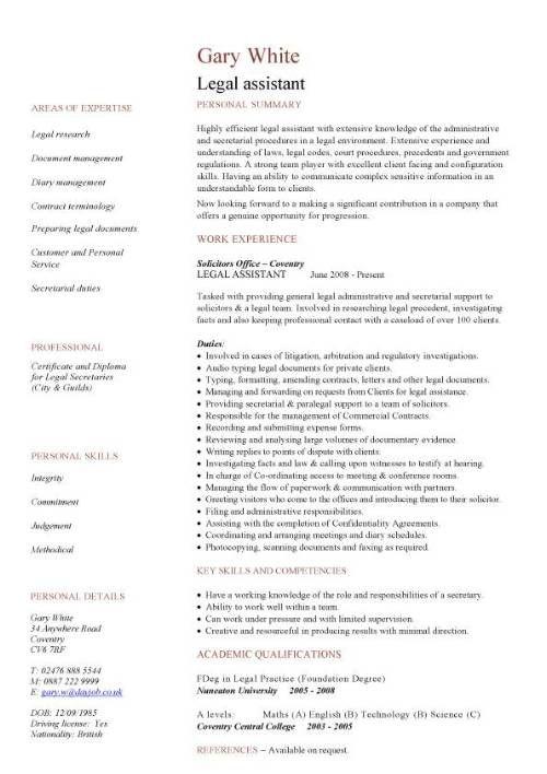 Litigation Paralegal Resume Cover Letter Httpwwwresumecareerinfolitigation Paralegal