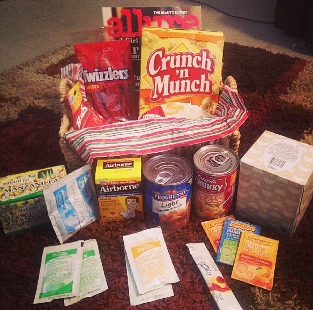17 Best Images About Get Well Package On Pinterest