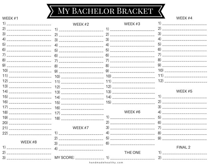 graphic regarding Bachelor Bracket Printable Nick known as Bachelor Brackets Components towards Do Pinterest Bachelor bracket