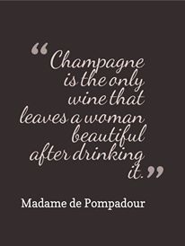 Amen to that!!! Champagne is greater than just….wine. My choice of poison ;)