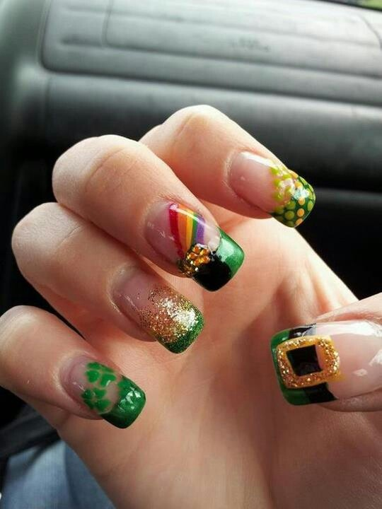 1000+ images about St. Patrick's Day Nail Design on ...
