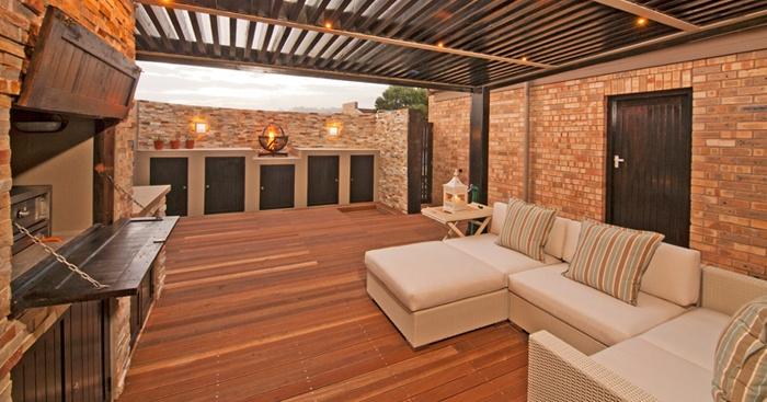 Beautiful all-weather braai area. | Braai Room Ideas ... on Modern Boma Ideas  id=72377