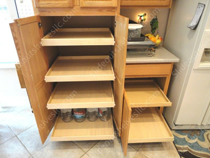 17 Best Images About Pull Out Pantry Shelves On Pinterest