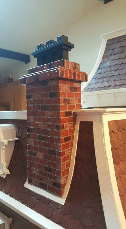 Chimney Please Follow Dollhouse Miniature Madness And