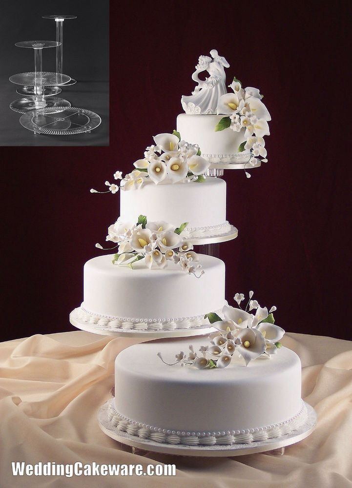 25 Best Ideas About Multiple Wedding Cakes On Pinterest