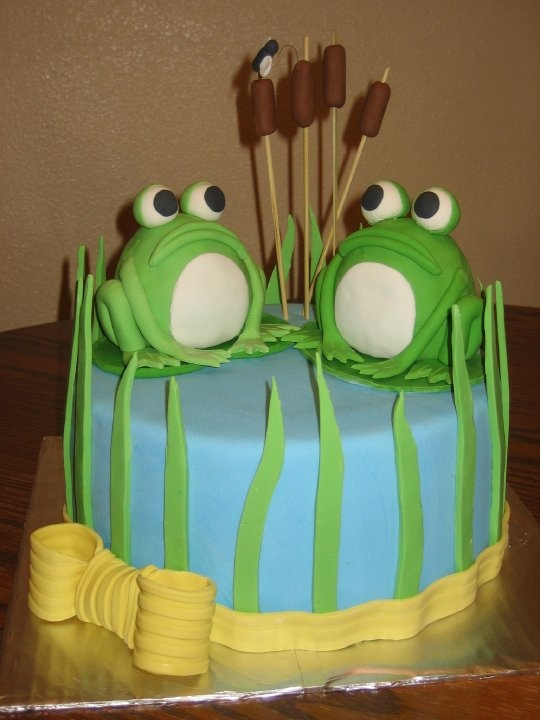 1000 Images About Frog Cakes On Pinterest Cakes