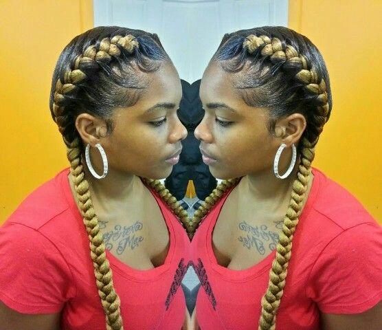 2 Simple Underbraids Hair Styles Pinterest Simple
