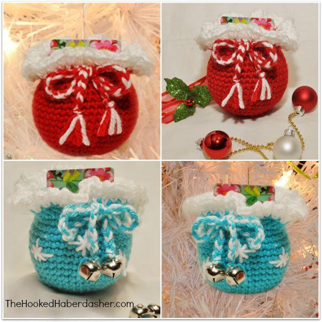 Free Santas Gift Sack Ornament Crochet Pattern Amp Gift