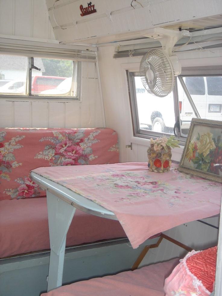 278 Best Images About Pink Vintage Caravans On Pinterest