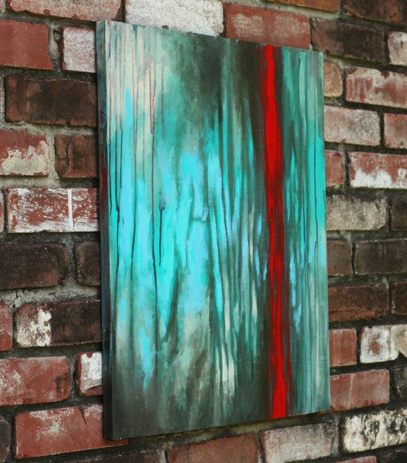 92 best images about red teal color scheme for living on modern acrylic paintings for living room id=89635