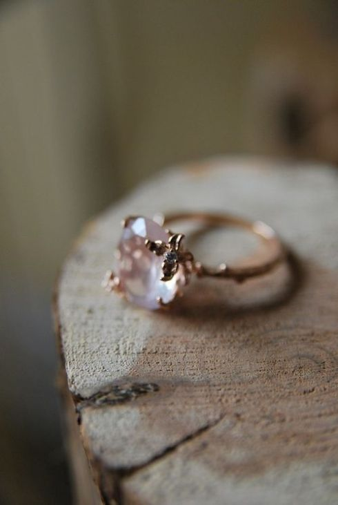 I'm in love with rose gold!