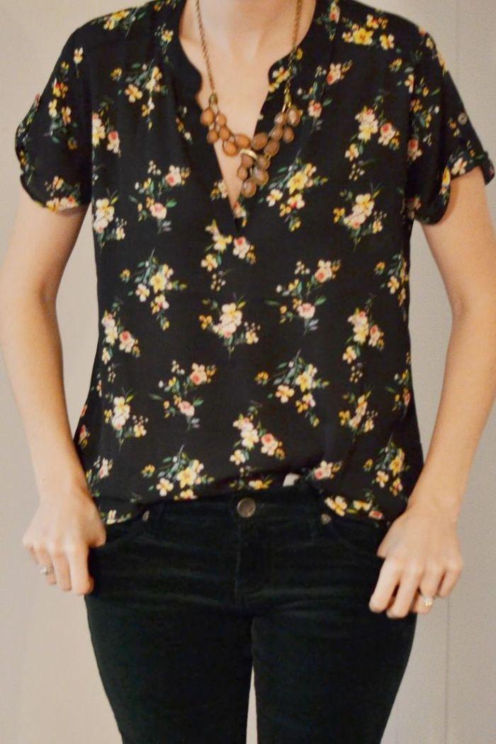 Best 20+ Floral blouse ideas on Pinterest