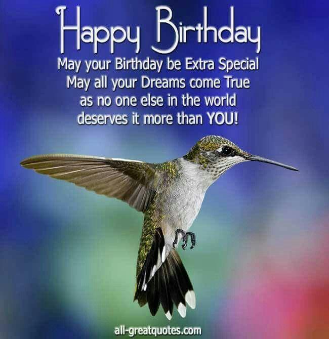 Bday Hummingbird Cute ECards Pinterest Hummingbirds