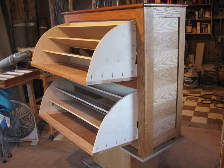 Double Shoe Rack Cabinet By David Dean Lumberjocks Com