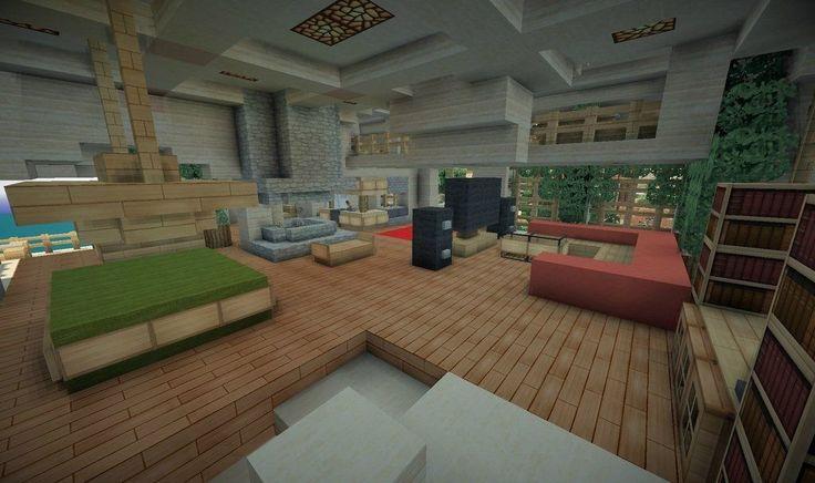 minecraft modern house kitchen - Google Search | Minecraft ...