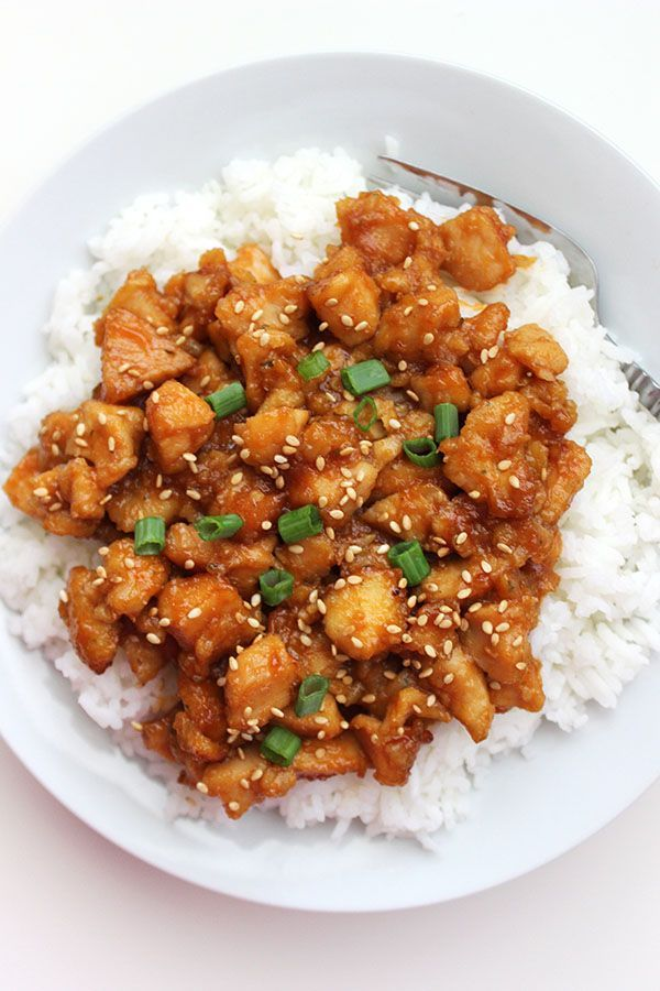 Crockpot Sweet and Sour Chicken – super simple and