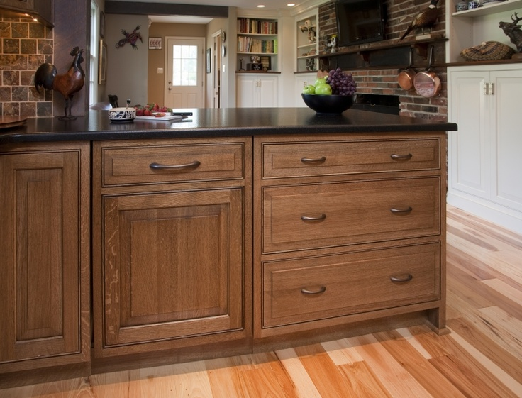 View Of Inset Dishwasher With Matching Cabinet Panel Period Style Rustic Kitchens Pinterest