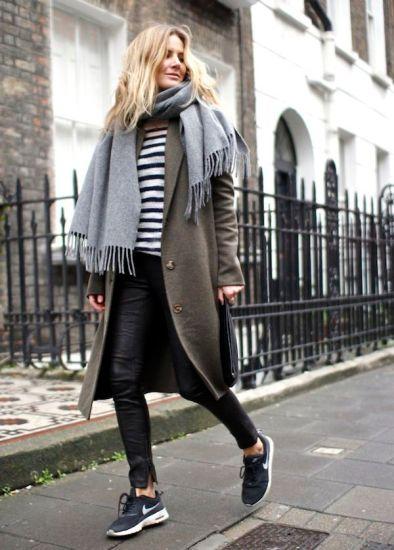 冬ファッション&エアマックス