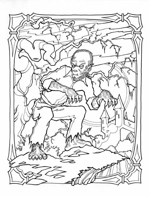 74 best images about coloring pages to print  halloween