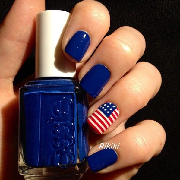July 4th Nail Designs That Are To Die For - GIRL IN GAMBA