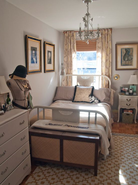 17 best images about narrow bedroom on pinterest desks on bedroom furniture design small rooms id=81924