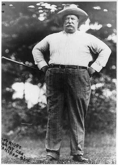 William Howard Taft Pres US 1857 1930 First President