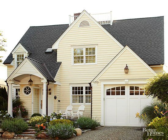25+ Best Ideas About Yellow House Exterior On Pinterest
