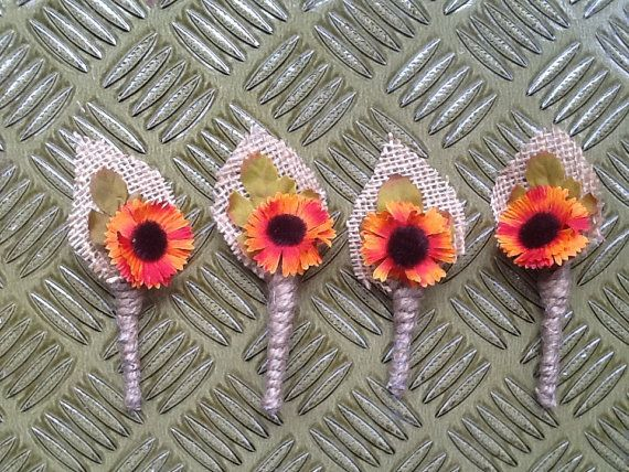 1000+ Ideas About Fall Wedding Boutonniere On Pinterest