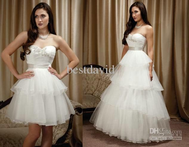 1000+ Ideas About Detachable Wedding Skirt On Pinterest