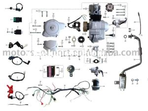 Coolster 110cc atv parts furthermore 110cc pit bike engine diagram along with coolster 125cc atv