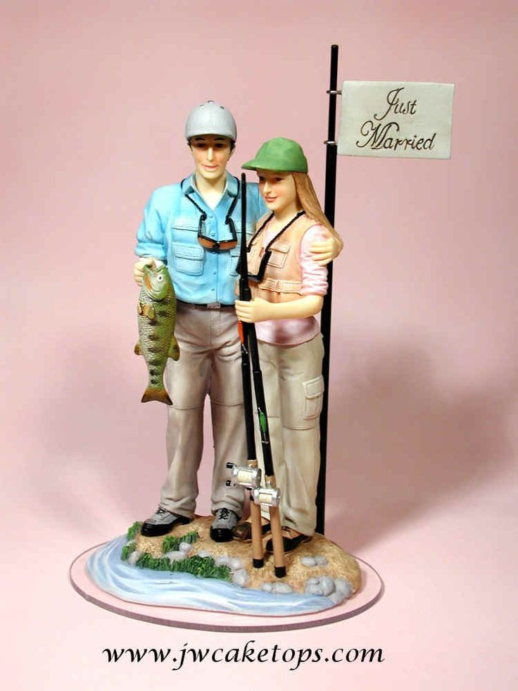 Gone Fishing Wedding Cake Toppers The Wedding