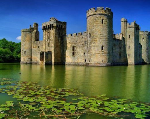 Замок Конуи, Уэльс. Средневековый замок ...: