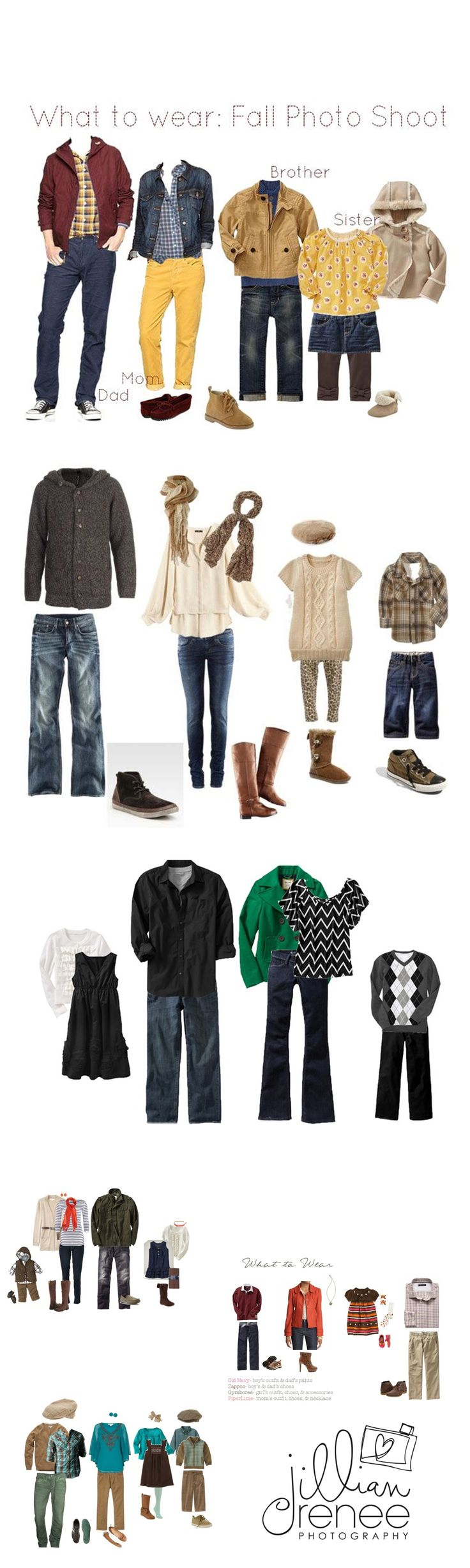 What to Wear ~ Fall Family Portrait Sessions { Pickerington Ohio Family Photographer} – Jillian Renee Photography