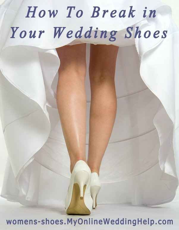 Speaking of wedding shoes, you'll want to break them in before you wear them down the aisle. | 21 Wedding Tips You'll Be Glad