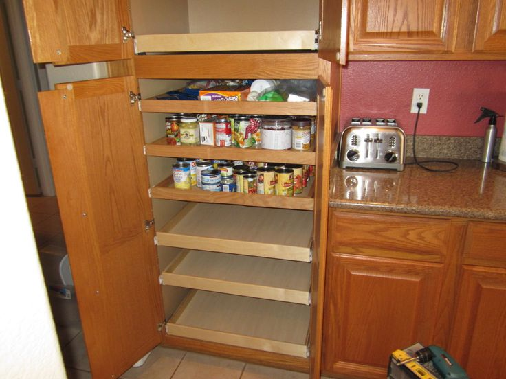 33 Best Images About Pull Out Pantry Shelves On Pinterest