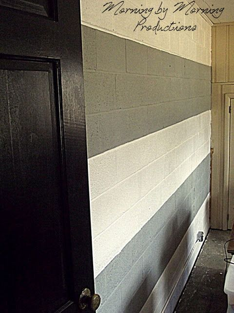 painted block wall photo gallery very nice fat grey on concrete basement wall paint colors id=83731