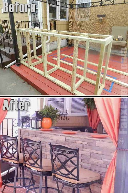 1000 images about back patio bar on pinterest man cave beverages and home bars on outdoor kitchen on wheels id=33222