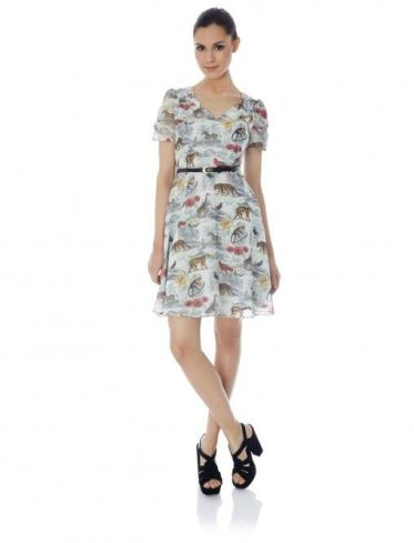 Noah's Safari Print Tea Dress £65 from Yumi