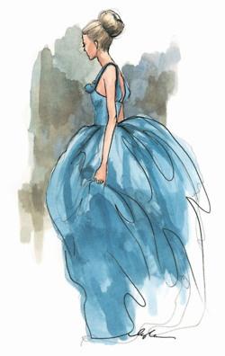 ilustración de Moda de Inslee Haynes